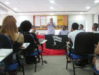 Levante de Salvador realiza primeiro módulo de Escola de Formação Política