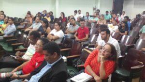 Participaram diversas organizações políticas e movimentos sociais