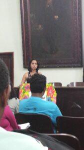 A reunião contou com o protagonismo e participação da juventude