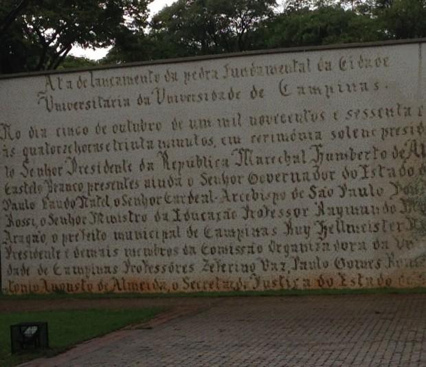 Painel celebra a presença na Unicamp do marechal Castelo Branco, primeiro ditador do governo militar