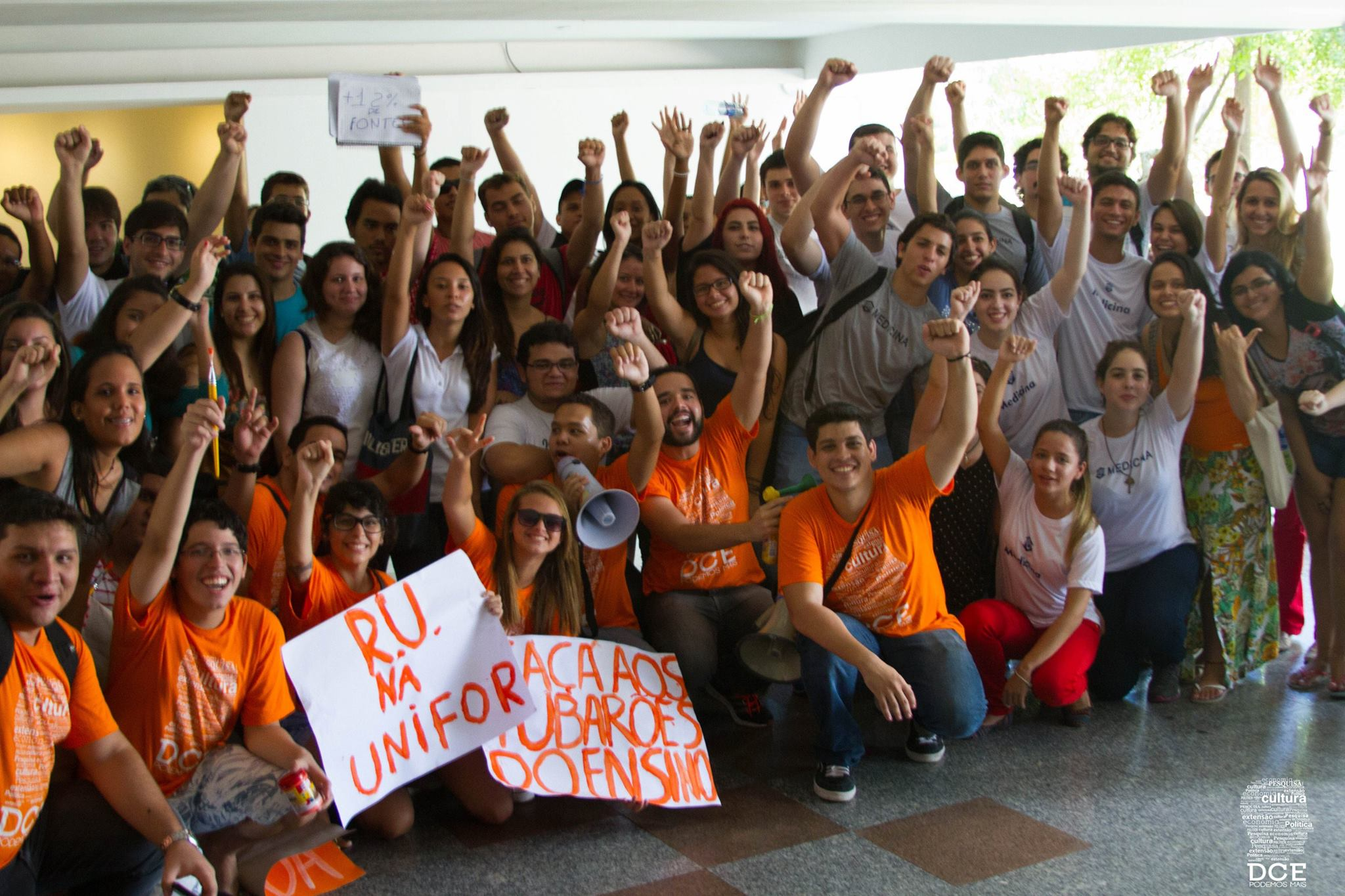 Luta dos estudantes da Unifor faz barrar aumento abusivo na mensalidade