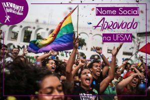 A luta pela institucionalização do nome social é uma das pautas do movimento LGBT