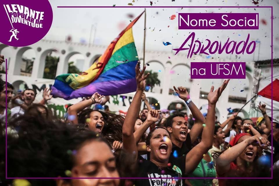 Nome social é aprovado na UFSM