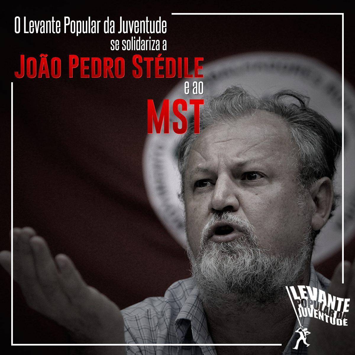 NOTA EM SOLIDARIEDADE A JOÃO PEDRO STÉDILE E AO MST