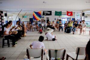 Roda de capoeira Angola com o grupo Volta ao mundo