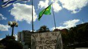 Levante Popular da Juventude e Jovens do MST realizam escrachos em afiliadas da RBS, no RS