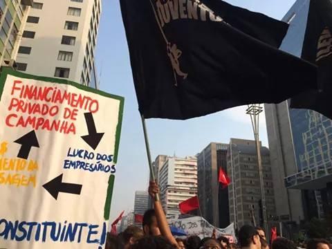 Em Manaus, constituinte pra ter passe livre estudantil