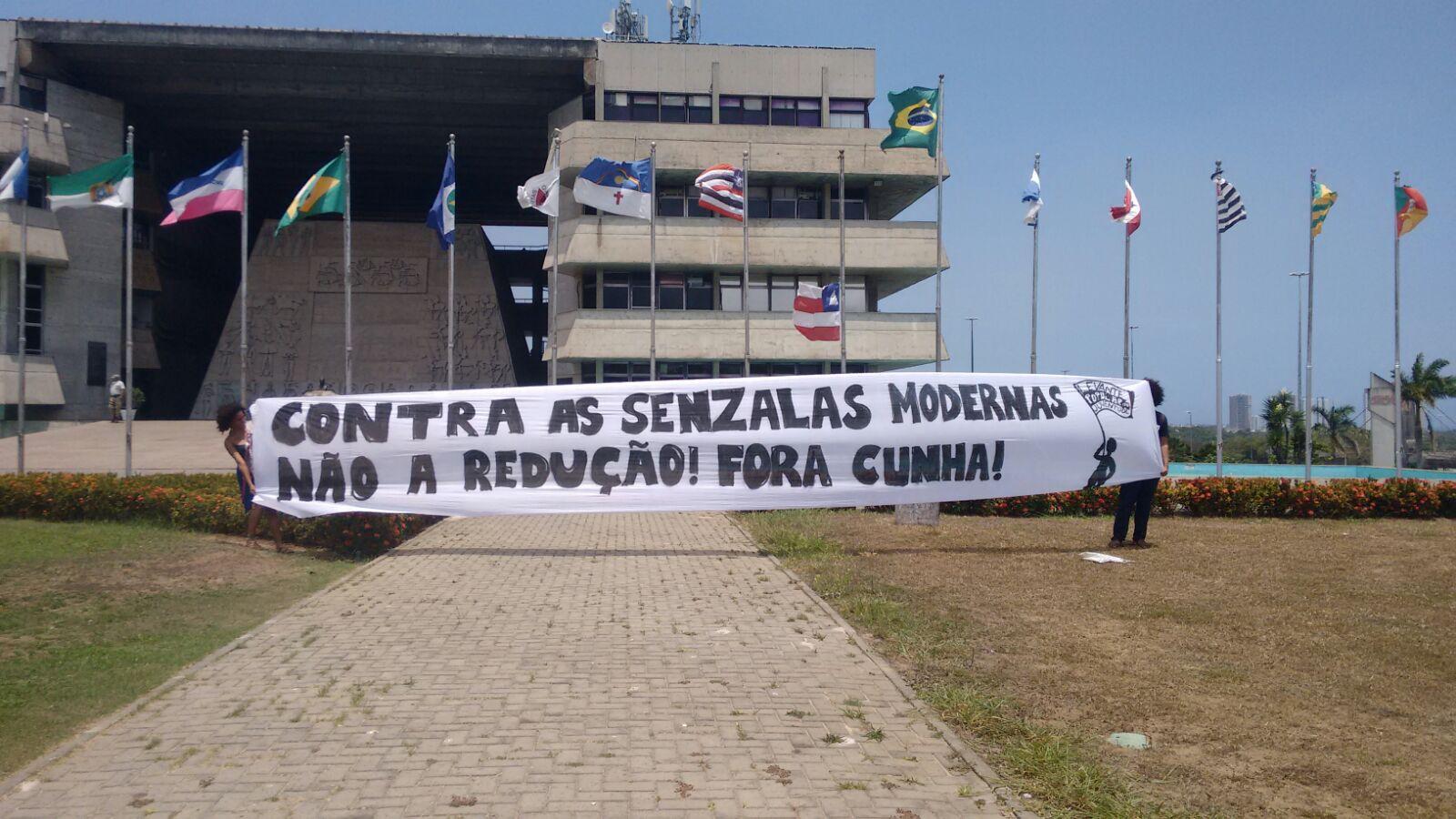 Contra as senzalas modernas: Não a redução! Fora Cunha!