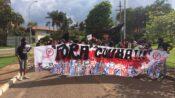 Cunha fue escrachado por la juventud en Brasília