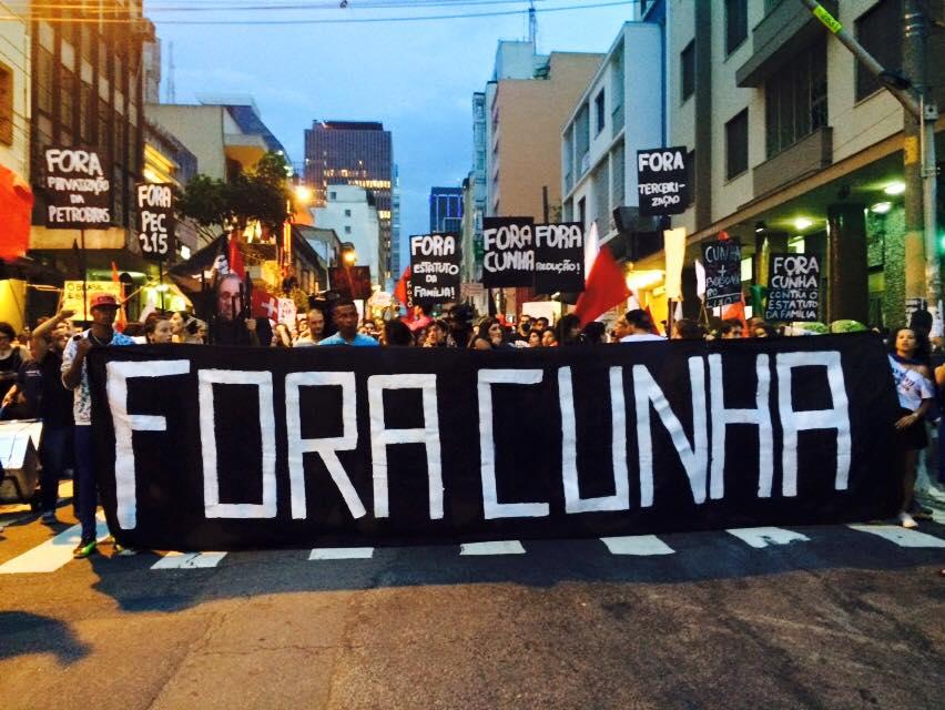 Ato da Frente Frasil Popular no dia 16 de dezembro