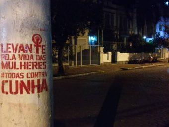 DEFENDER O #FORACUNHA SIGNIFICA RESGUARDAR OS DIREITOS DAS MULHERES