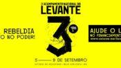 Com rebeldia, a juventude do Levante organiza terceira edição de seu Acampamento Nacional.