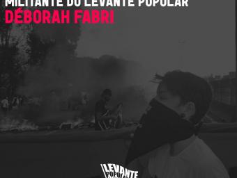Nota de solidariedade à militante do Levante Popular da Juventude Deborah Fabri