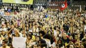 Acampamento de jovens reúne 7 mil e pede uma nova Constituinte