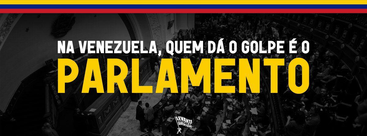 Na Venezuela, quem dá o golpe é o parlamento