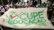 Para além de ocupar escola, ocupar a educação