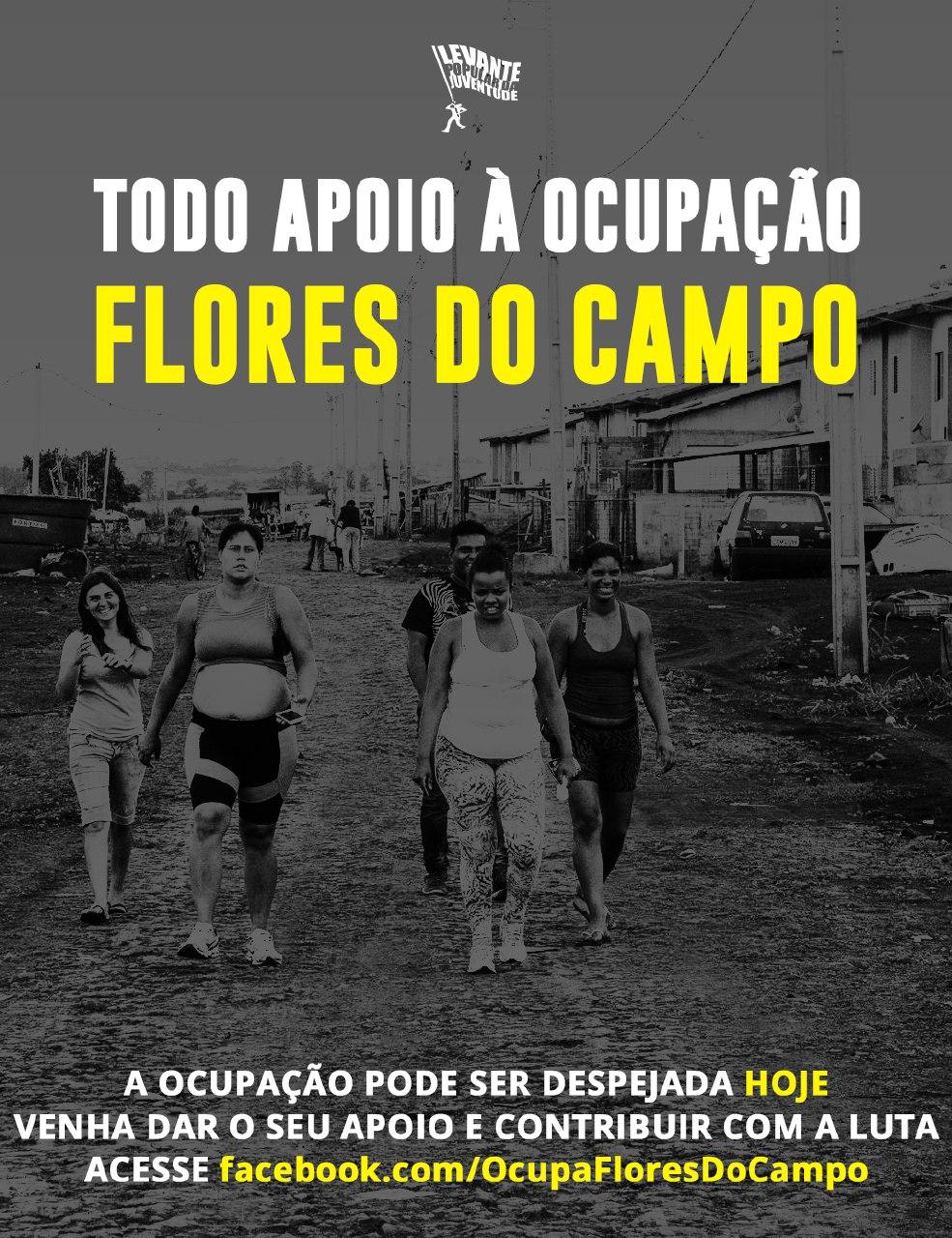 Nota de Apoio à Ocupação Flores do Campo de Londrina