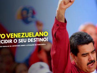 Alerta! O povo venezuelano deve decidir o seu destino