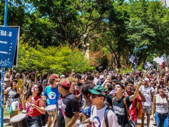 Juventude em defesa do meio ambiente e da vida