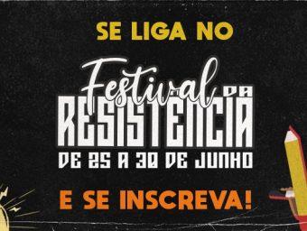 Levante realizará 'Festival da Resistência' entre os dias 25 e 30 de junho