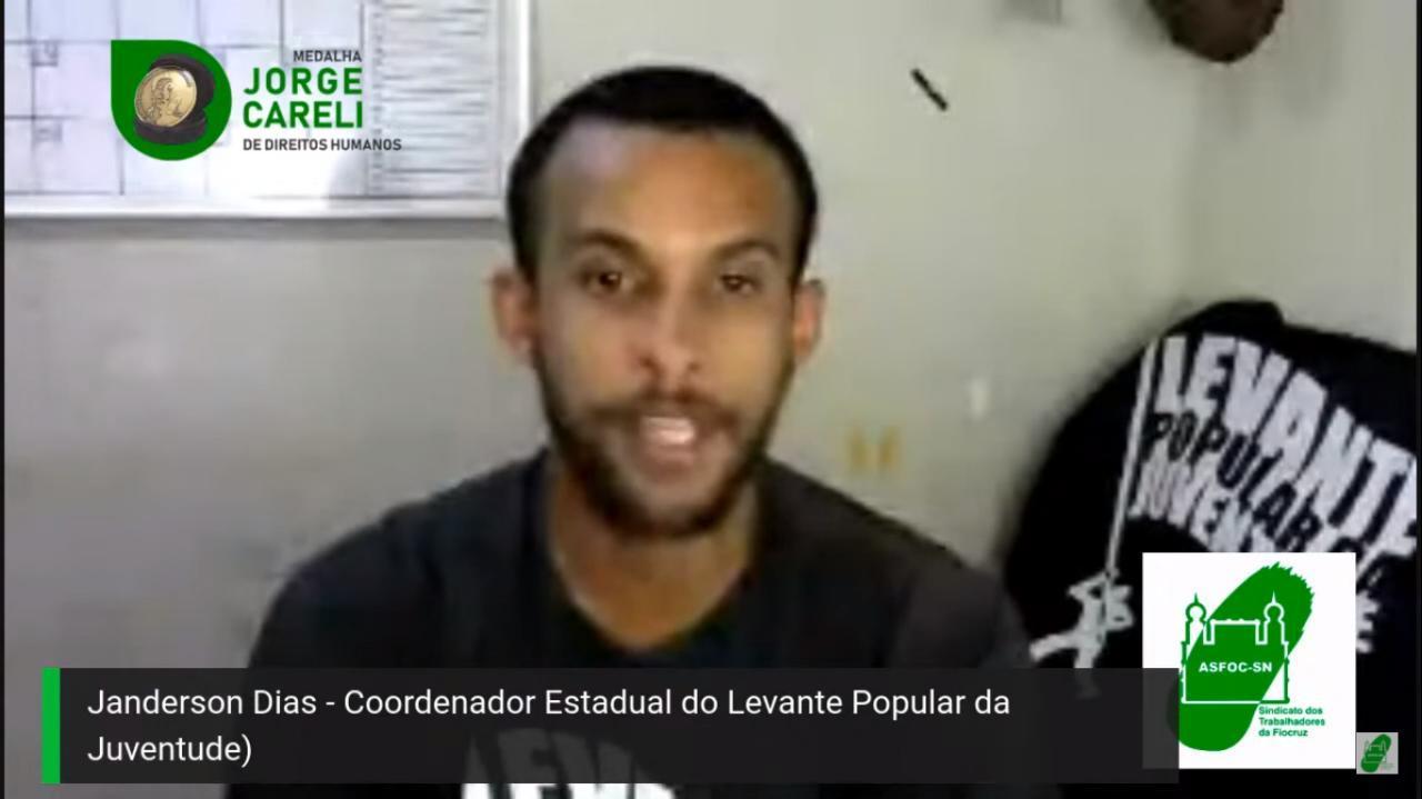 Levante Popular da Juventude ganha Medalha Jorge Careli de Diretos Humanos pela campanha Nós por Nós