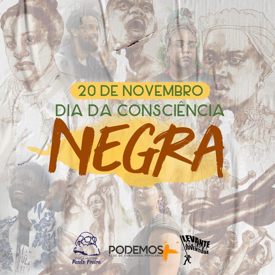 Novembro de luta contra a desigualdade social, de raça e de gênero e todas as violências!