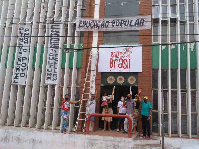 MPA Piauí ocupa prédio abandonado em Picos para transformar em referência de alimentação saudável