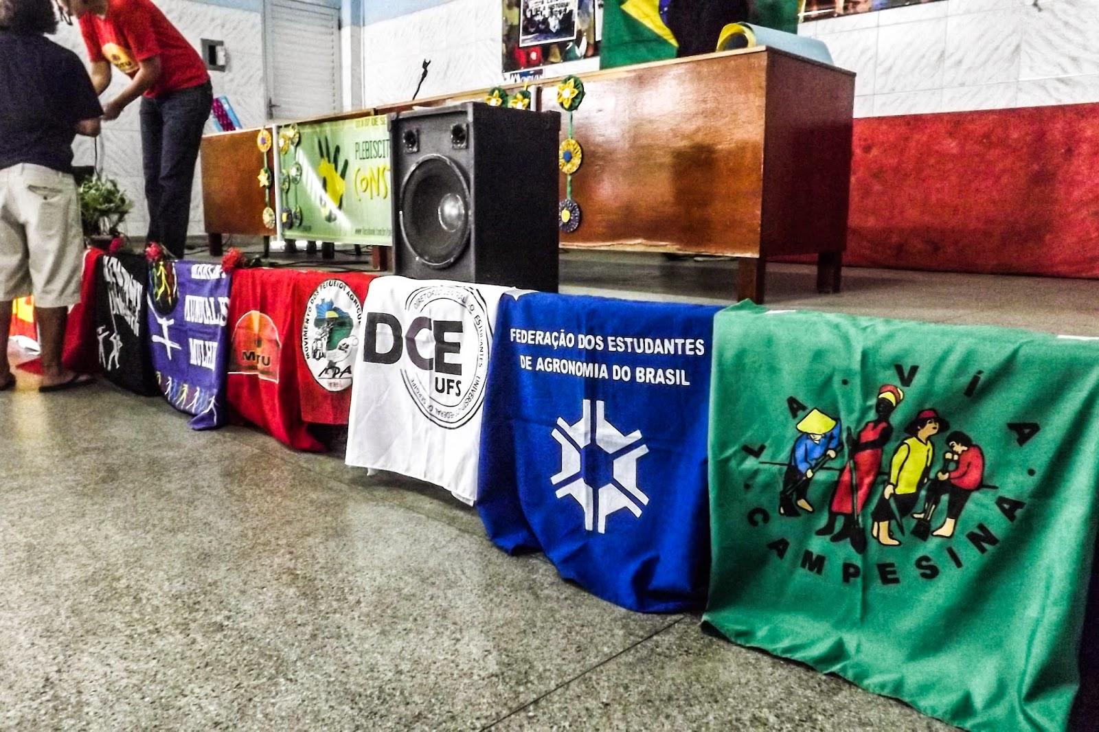Plebiscito Popular une movimentos sociais, sindicatos e independentes em Aracaju