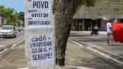 Levante Popular da Juventude Sergipe realiza ato no centro de Aracaju