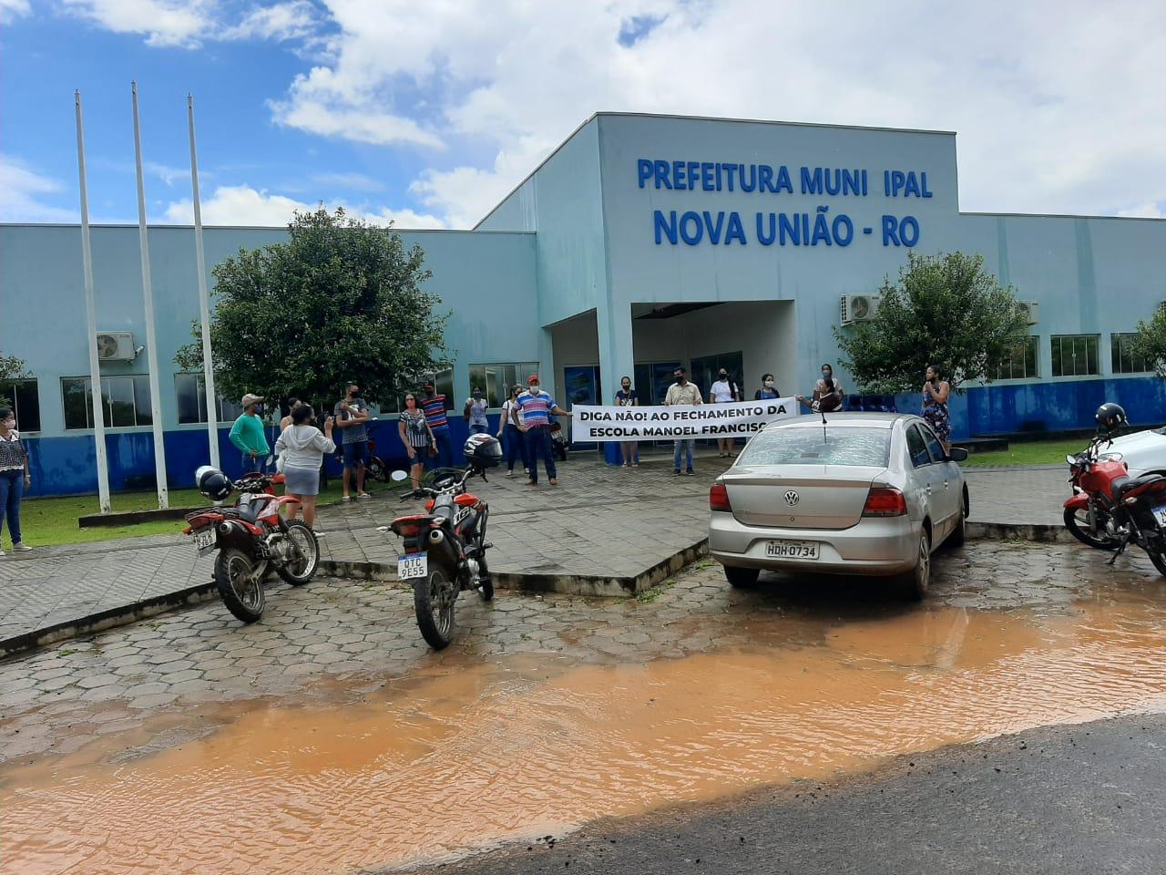 Relato sobre a Escola Manoel Francisco em Nova União-RO