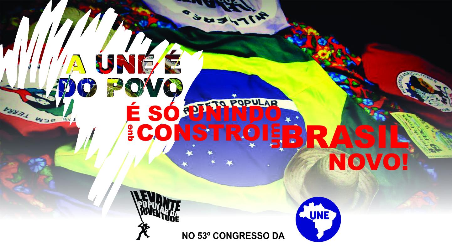 Levante rumo ao Congresso da UNE